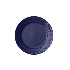 Blue Fluted Dinner Plate 2 Pack