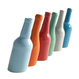 Drunken Bottles Vases Set Of Six