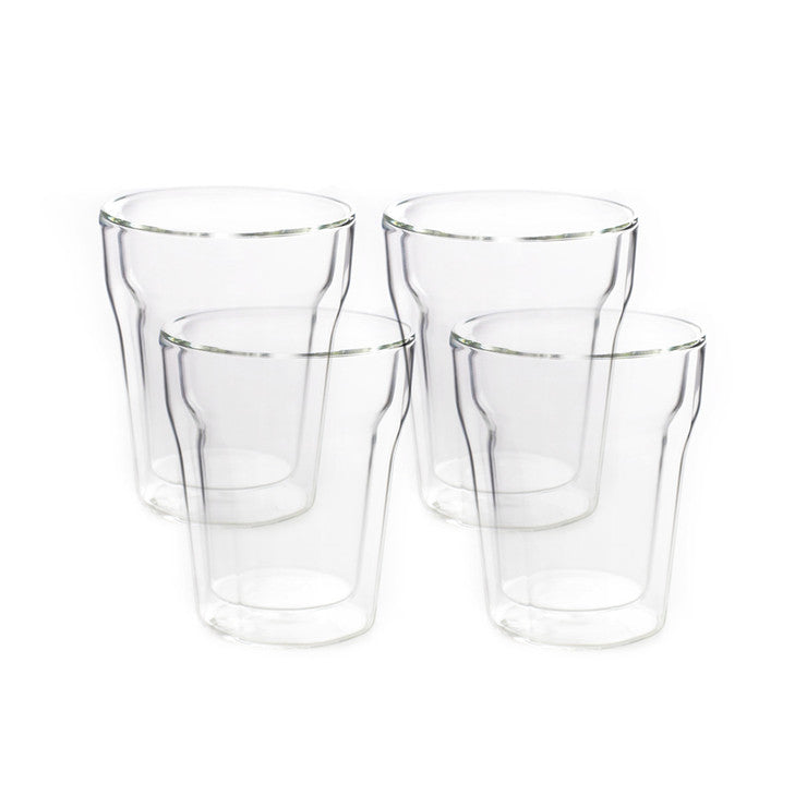 Double Walled Coffee Cup 4 Pack