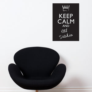 Keep Calm And… Set Of Two Decal