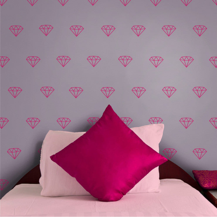 Diamonds 2 Pack Wall Decal