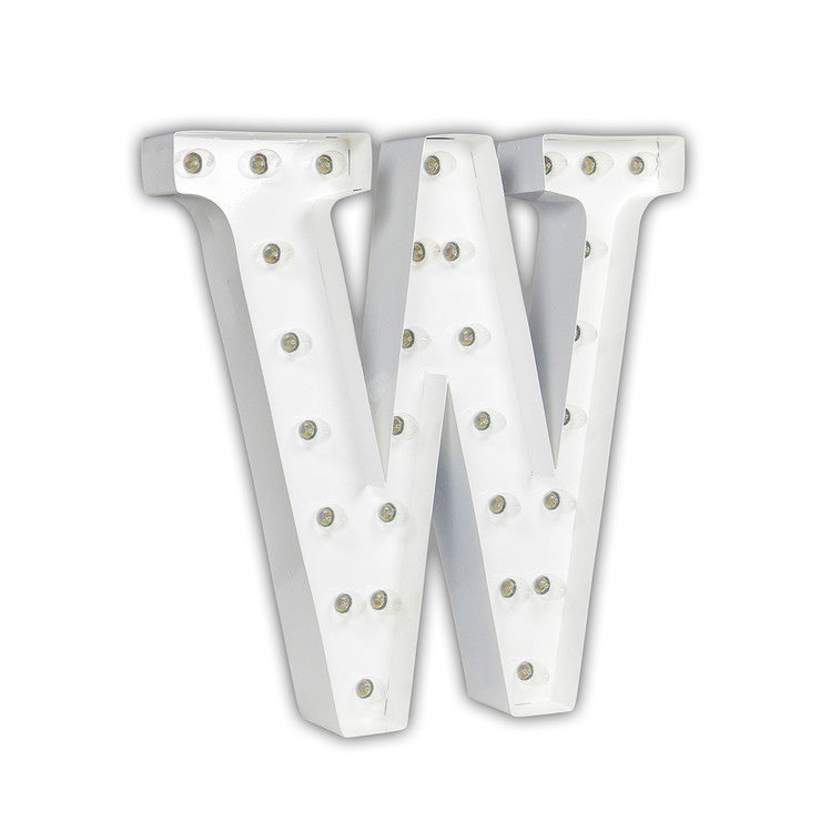 Vintage Marquee Light W White