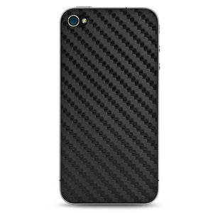 Faux Carbon Fiber iPhone 4 Skin