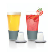 Dimple Pint Glass Set Of 2