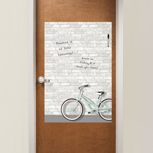 Enjoy The Ride Dry Erase Decal