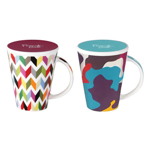 Ziggy & Glamo V Mug Set Of 2