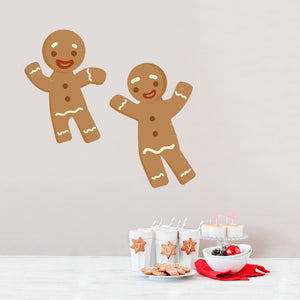 Gingerbread Men Wall Decal