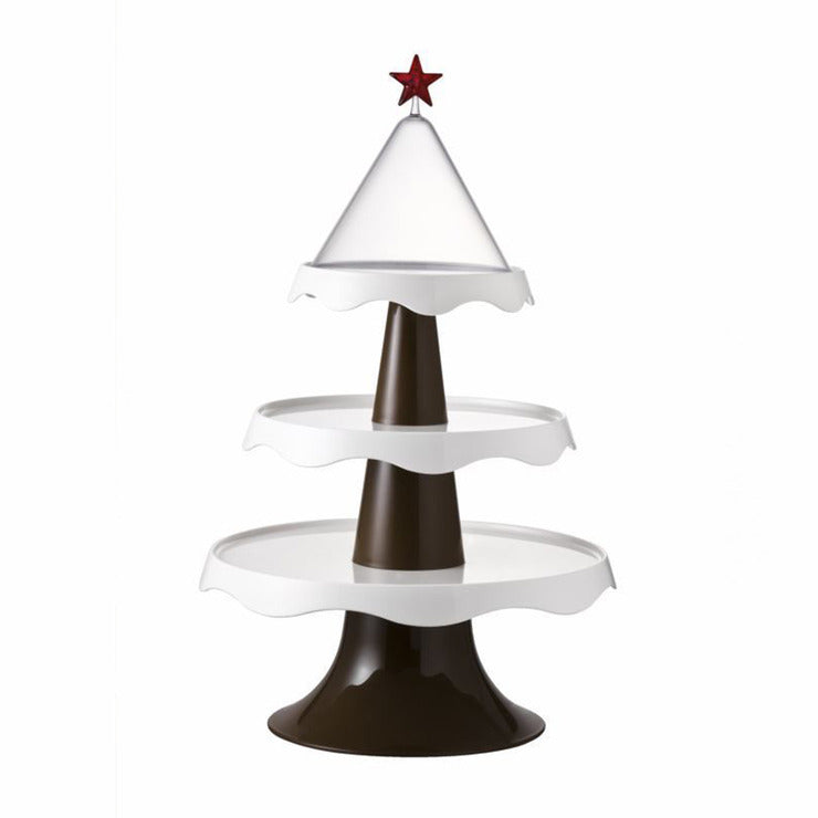 Merry Tree Tiered Stand White