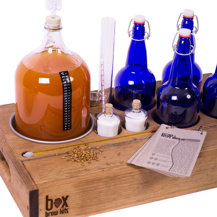 QuarterMaster Brew Kit & Bottles
