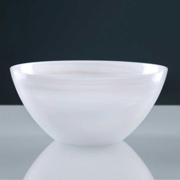 Large Alabaster Round Bowl