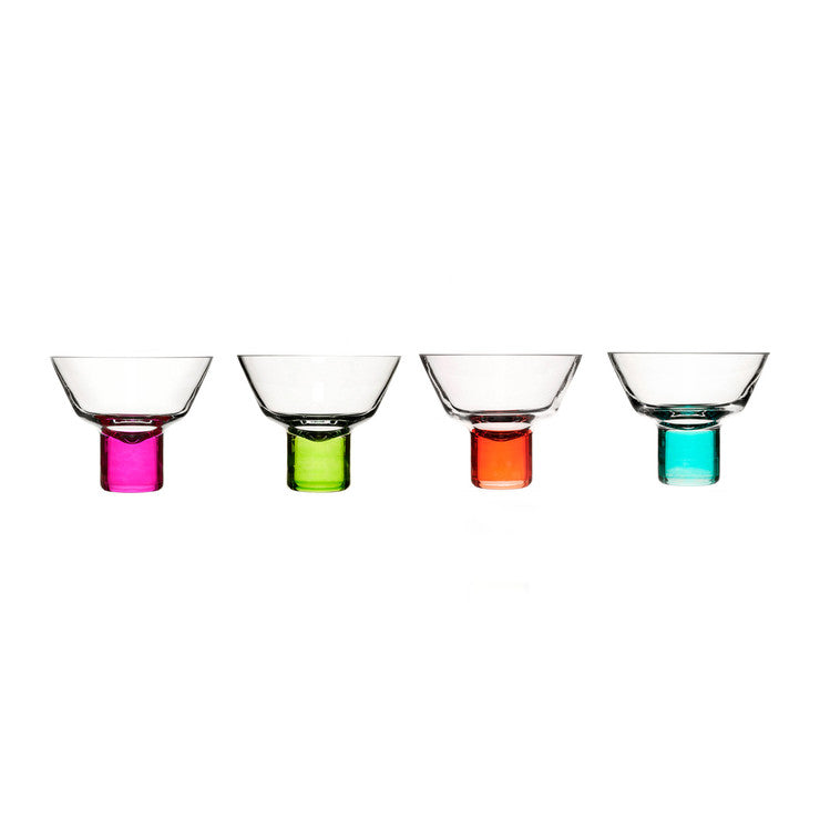 Club Martini Glasses Set Of 4