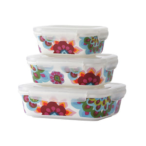 Gala Porcelain Container Set
