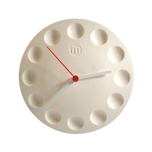 Magnetic Clock White