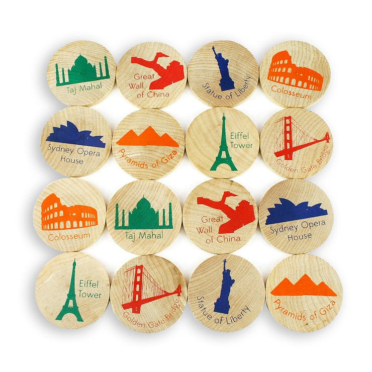 Match Stacks Global Landmarks
