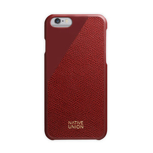 CLIC Leather iPhone 6/6S Case