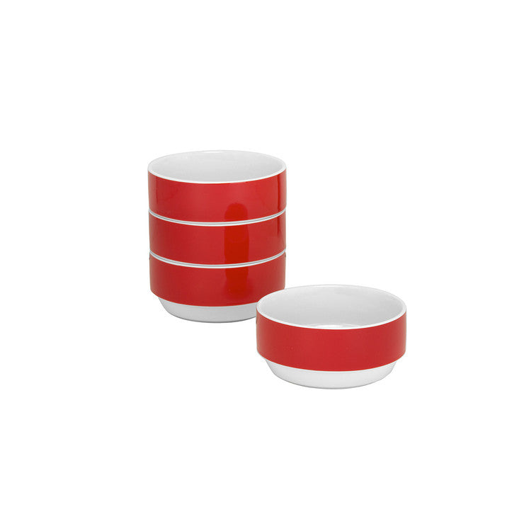 Felix Small Bowl Red Set Of 4