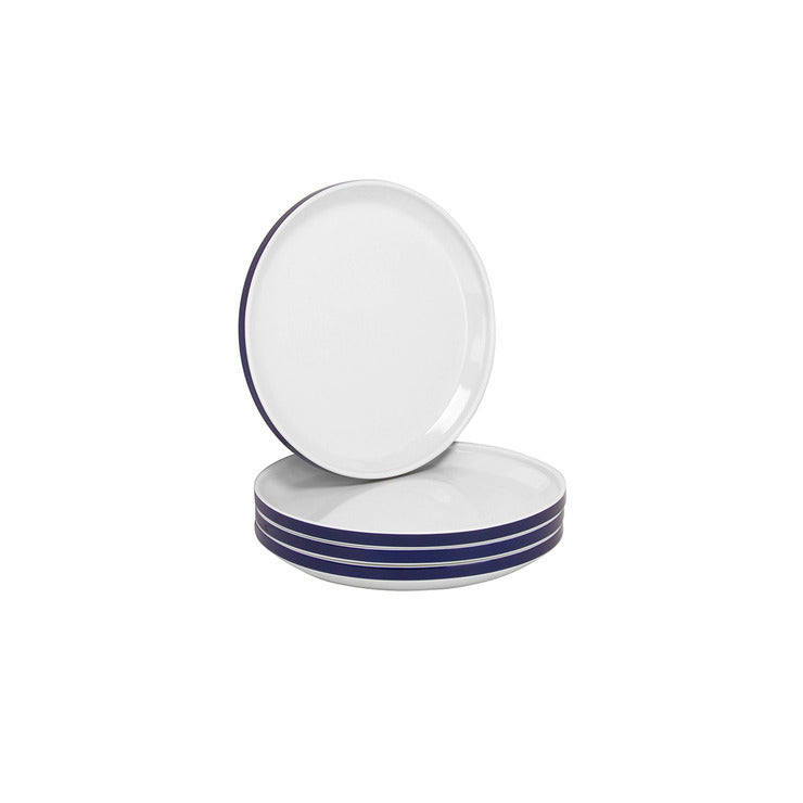 Felix Side Plate Blue Set Of 4
