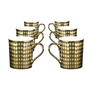 Cairo Mug Gold Set Of 6