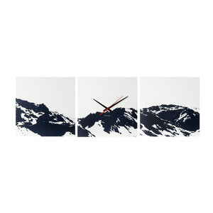 Alps Skyline Wall Clock