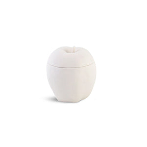 Apple Trinket Box White