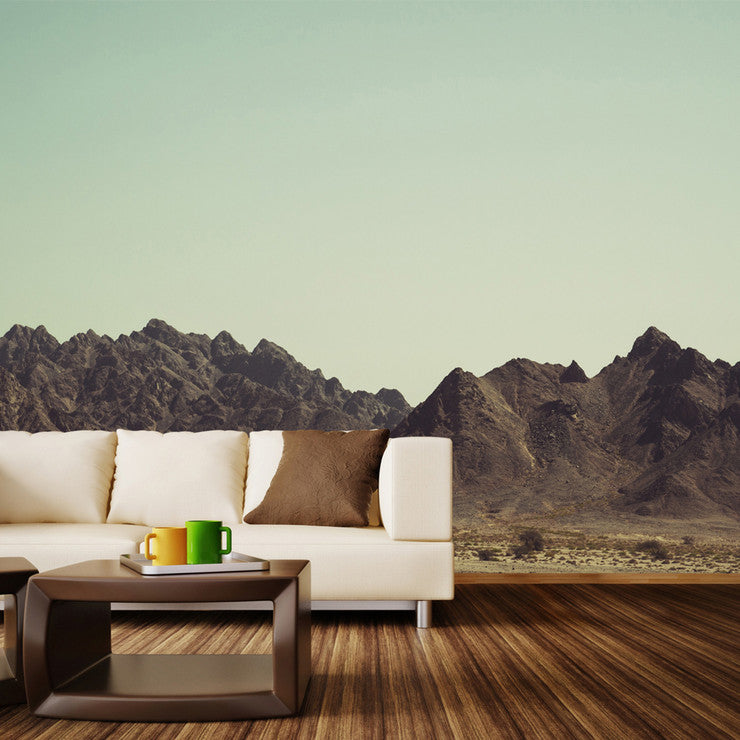 Deserted Mountains Mural Decal