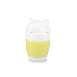 Toby Bear Porcelain Mug Yellow