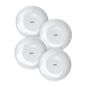 Takeout Plates Set Of 4