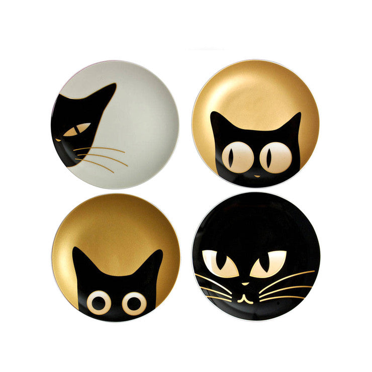 Cat Eyes Dessert Plate Set Of 4