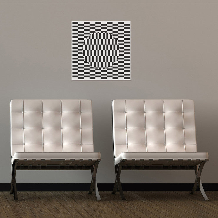 Illusion Coloring Decal