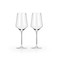 Raye Crystal Bordeaux Glass Pair
