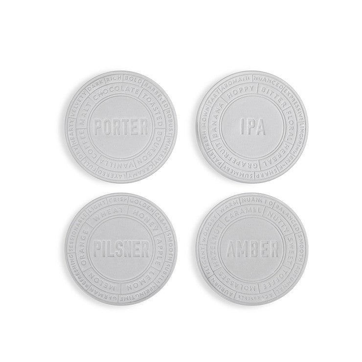 Ceramic Beer Coaster Set Of 4