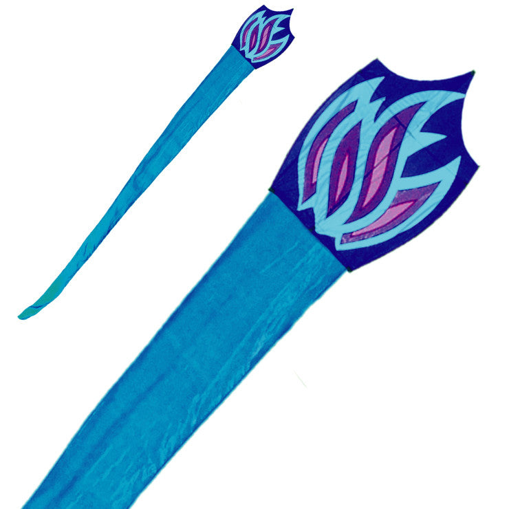 Blue Flame Organza Kite