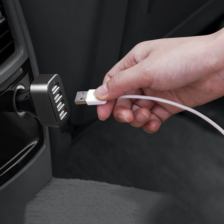 Power Dash 4-Port Car Charger
