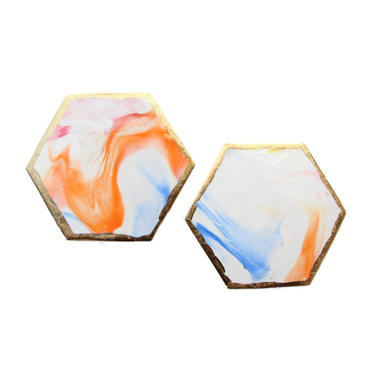 Sunset Coasters Set Of 2