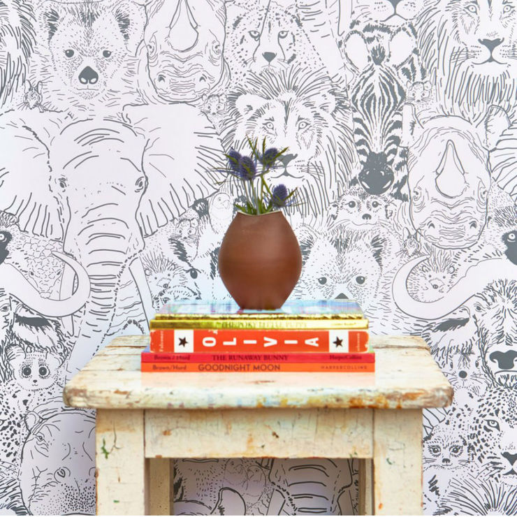 Wild Thing Removable Wallpaper