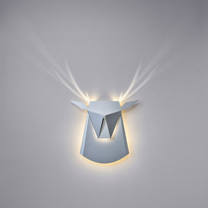 Aluminum Deer Light White