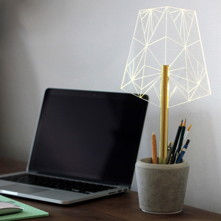Pen Holder Lamp
