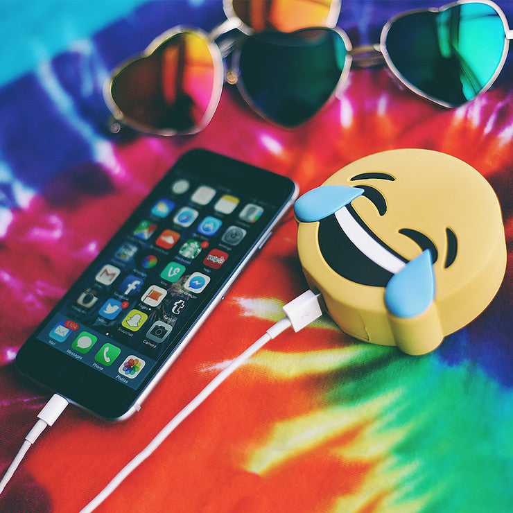 LOL Emoji Portable Charger