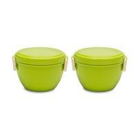 Bento Bowl Set Of 2 Green