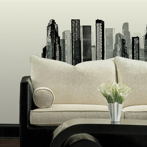 Cityscape Wall Decal