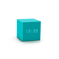 Gravity Cube Click Clock Green