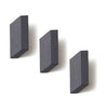 Parallelogram Wall Hooks Gray