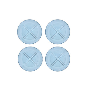 Bruk Salad Plate Set Of 4 Blue