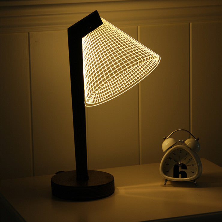 Dimmable 3D LED Lamp