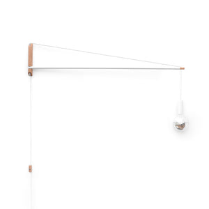 Crane Swinging Sconce Light 3'
