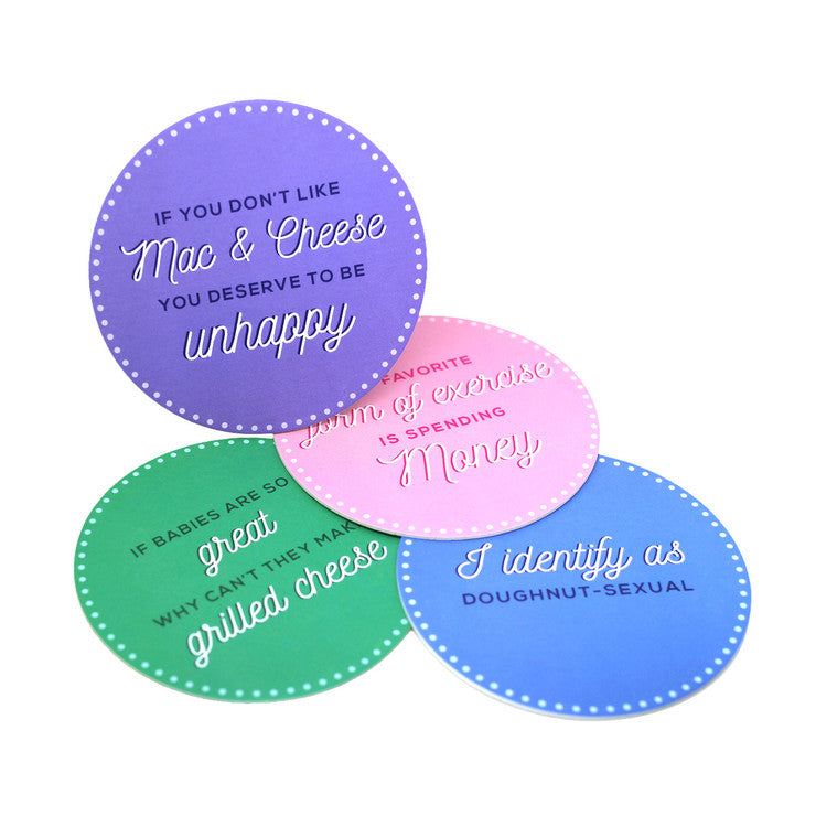 Whine Coasters Set of 12