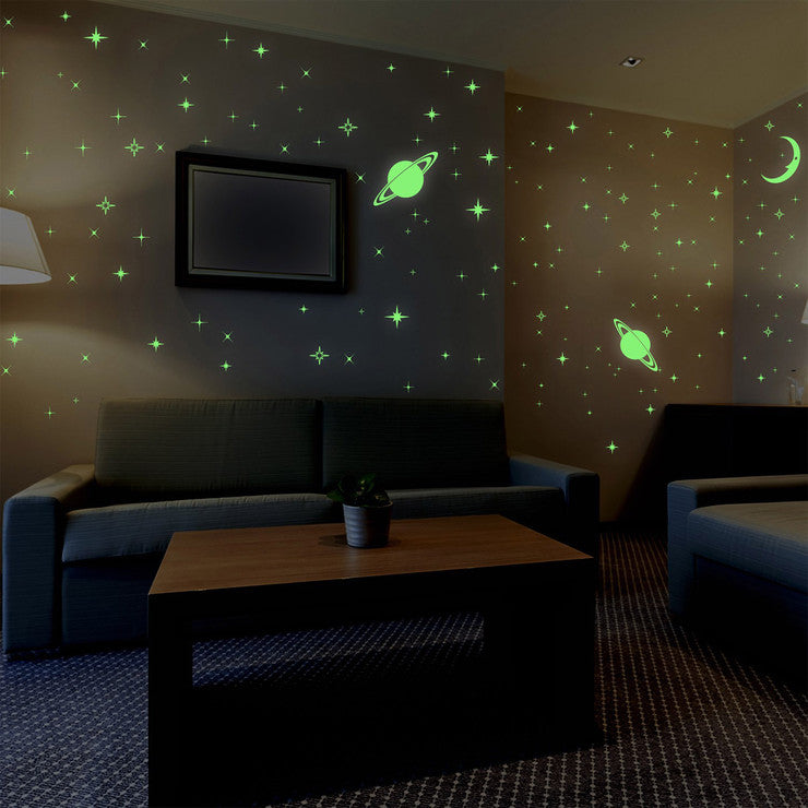 Stars & Moons Wall Decals