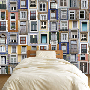 Lisbon Windows Wall Decal