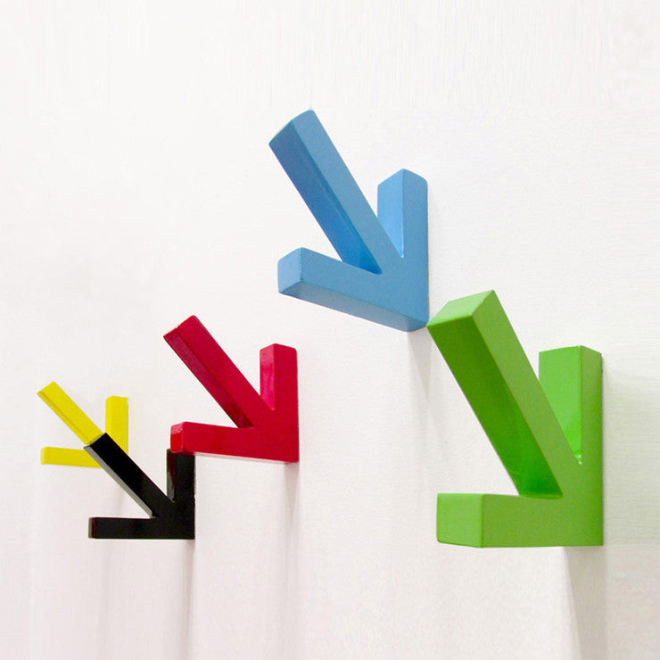 Arrow Coat Hooks Set Of 4