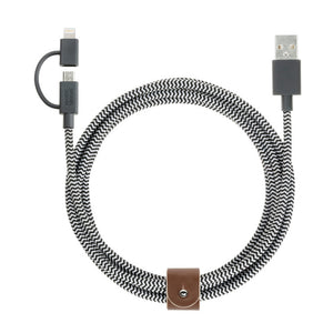 Belt XL Dual Cable 6.5 ft